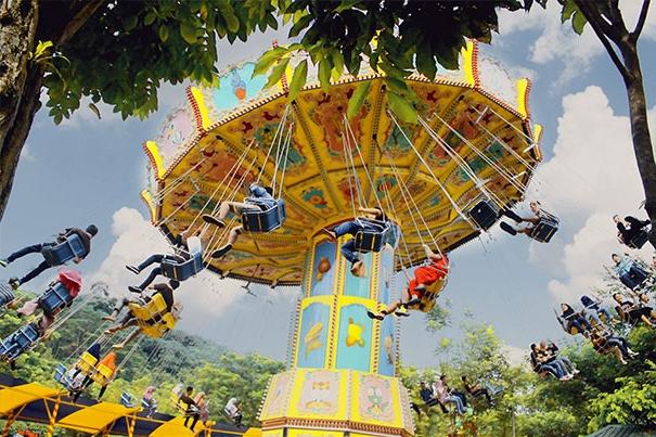 Tempat rekreasi di Sentul Jungleland