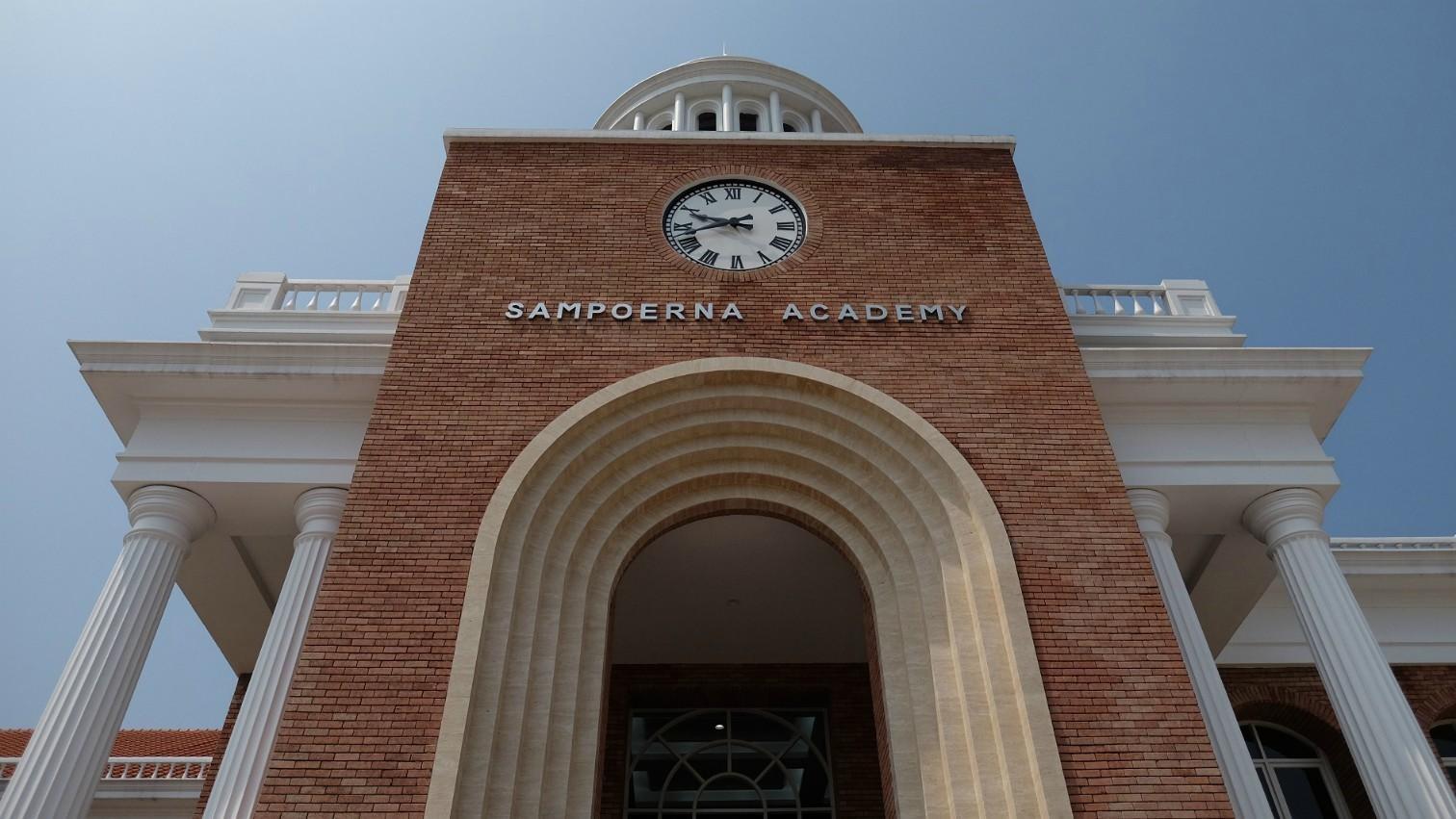 Sampoerna Academy Sentul cover