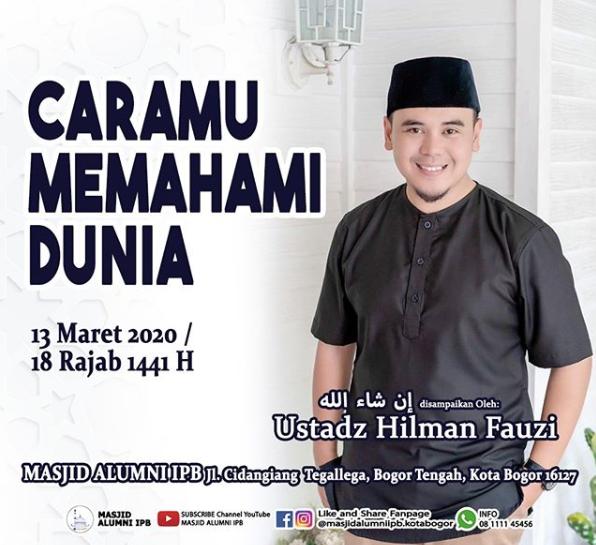 Kota Bogor Hilman Fauzi