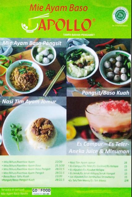 Makanan Enak Bogor menu