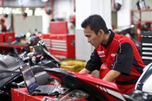 Dealer Yamaha Bogor mekanik