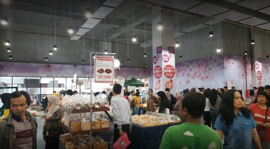 Mall Di Bogor makananan