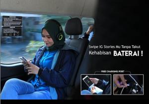 Travel Bogor Bandung charger