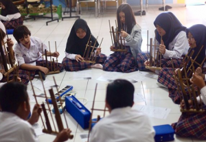 SD Pertiwi Bogor musik