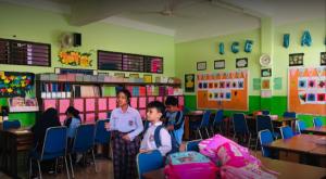 SD Pertiwi Bogor kelas