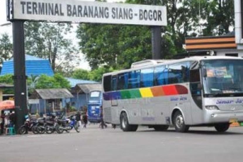 Terminal Di Kota Bogor bar