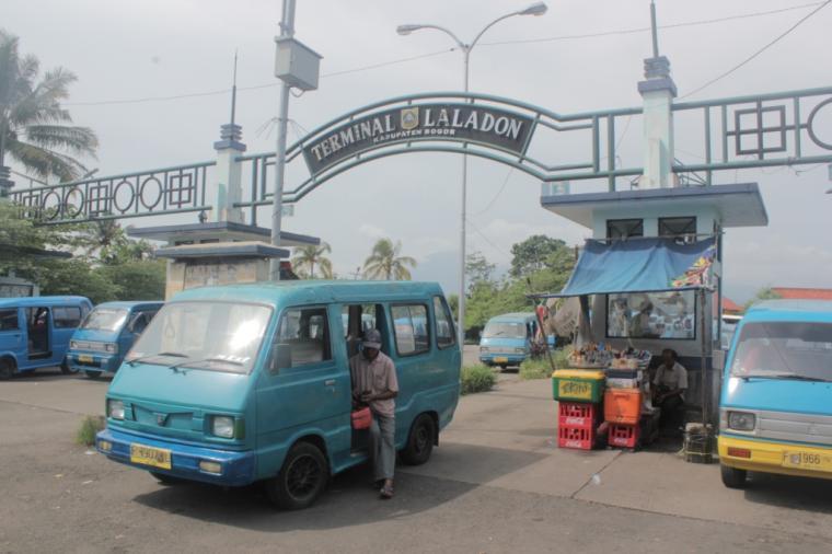 Terminal Di Kota Bogor lal