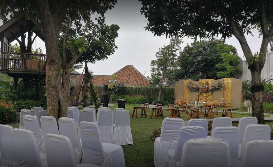Tempat Pernikahan Outdoor Di Bogor cover