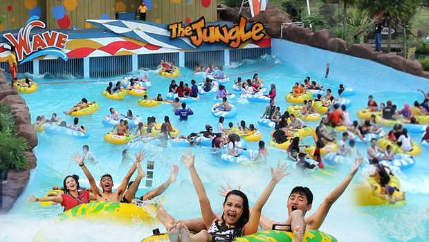 waterpark & kolam renang di Bogor